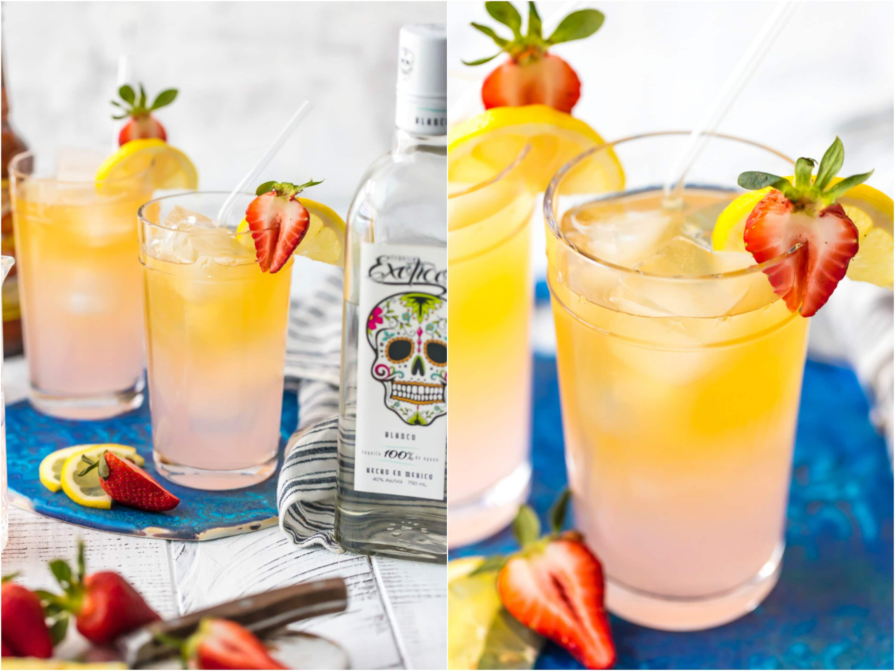 how to make summer shandy with tequila - step by step