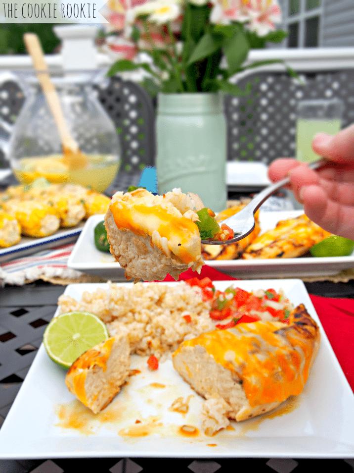 Copycat Applebee's Grilled Fiesta Lime Chicken. Favorite grilling chicken! - The Cookie Rookie