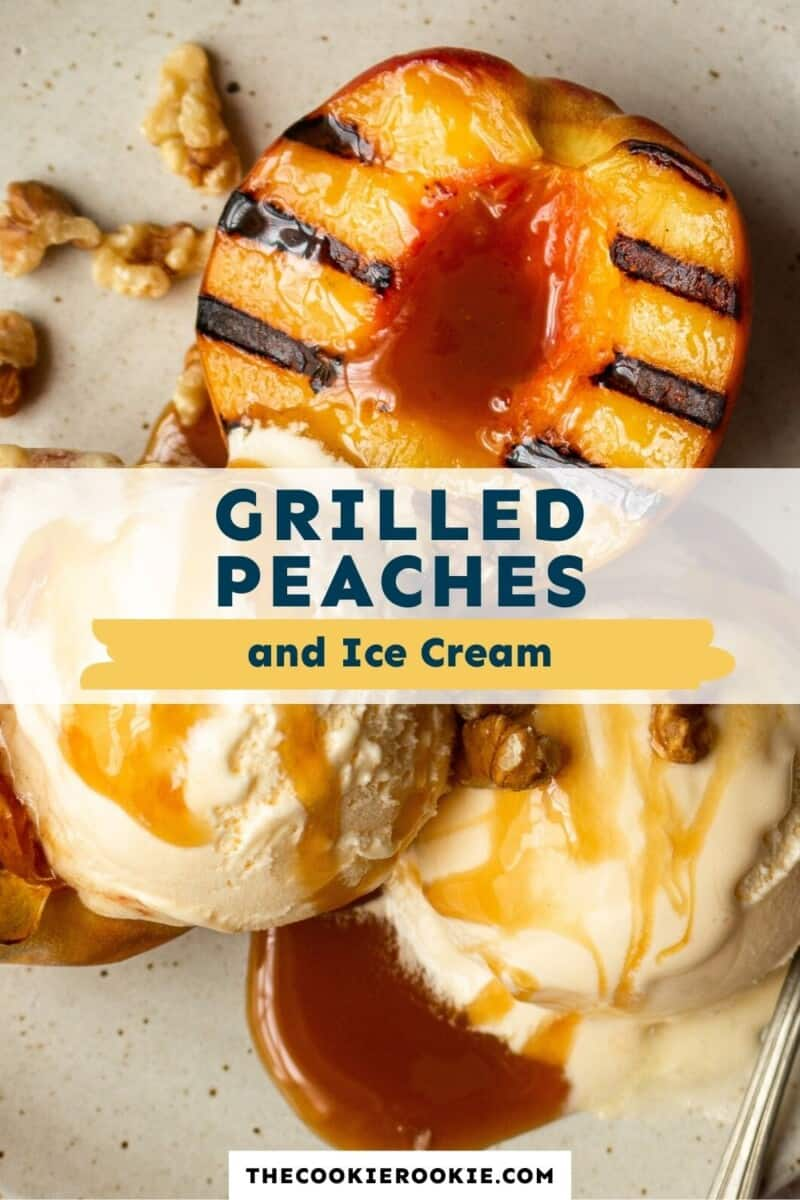 grilled peaches pinterest