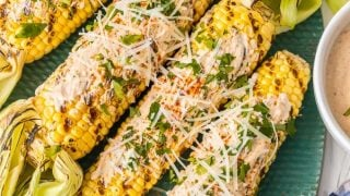 Mexican Corn on the Cob (Mexican Grilled Corn)