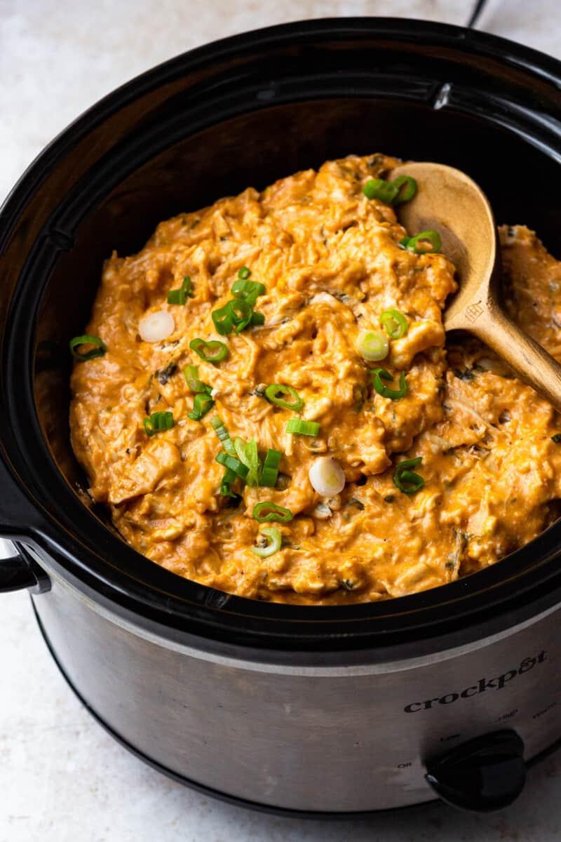 bbq chicken dip in crockpot
