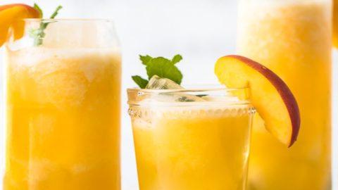 video Drinks - Easy Alcoholic Or Mocktail Lemonade Peach
