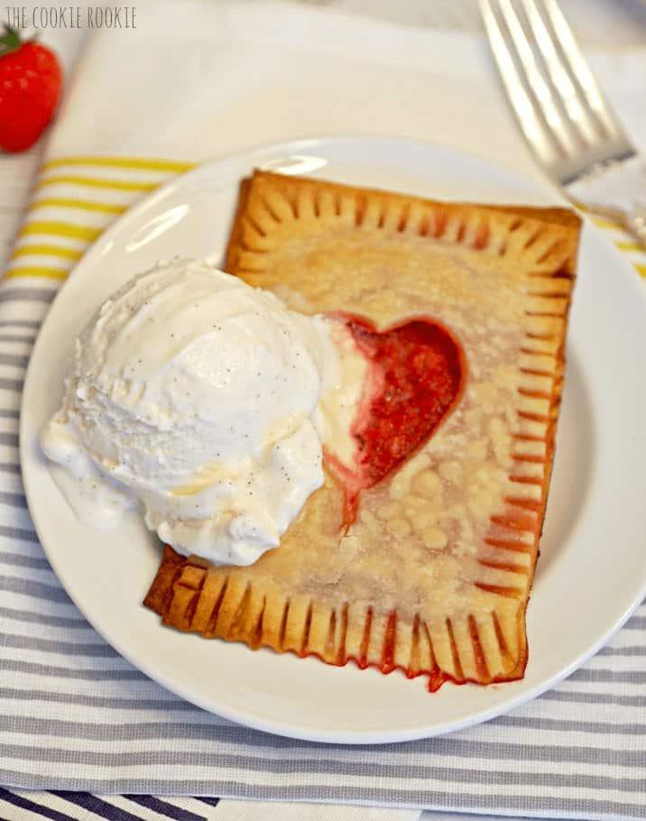 ice cream on dessert