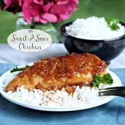 Sweet and Sour Chicken! This was my favorite meal growing up!