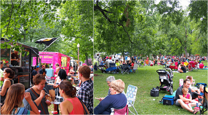Food Truck Friday - Tower Grove Park, St. Louis MO