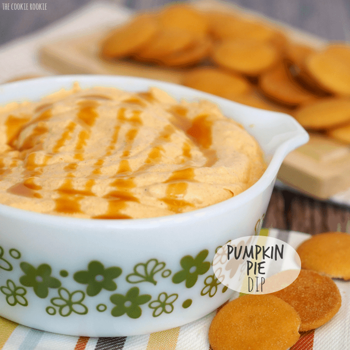 Pumpkin Pie Dip - The Cookie Rookie