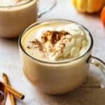 featured hot pumpkin cocktail