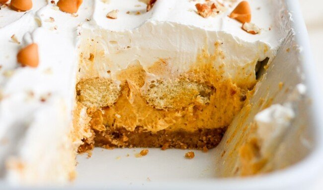 pumpkin pie lasagna