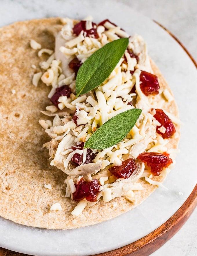 Thanksgiving leftover recipes: Turkey Cranberry Quesadilla
