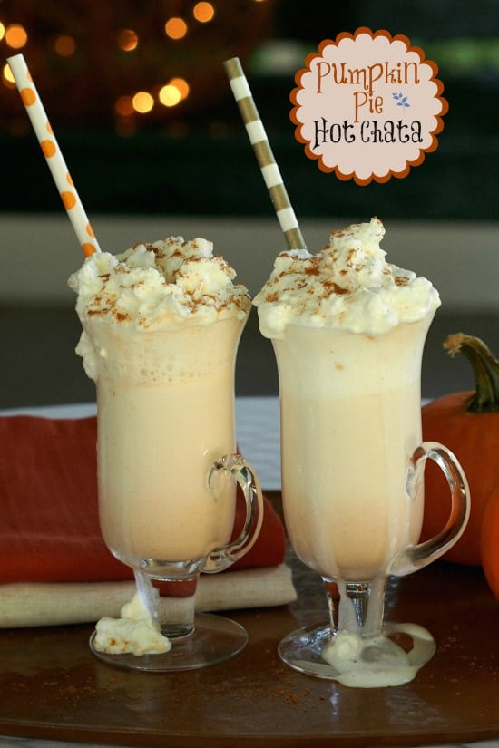 Pumpkin Pie Hot Chata | Simply Sated
