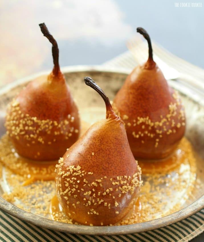 Vanilla Ice Cream with Caramel-Pear Sauce advise