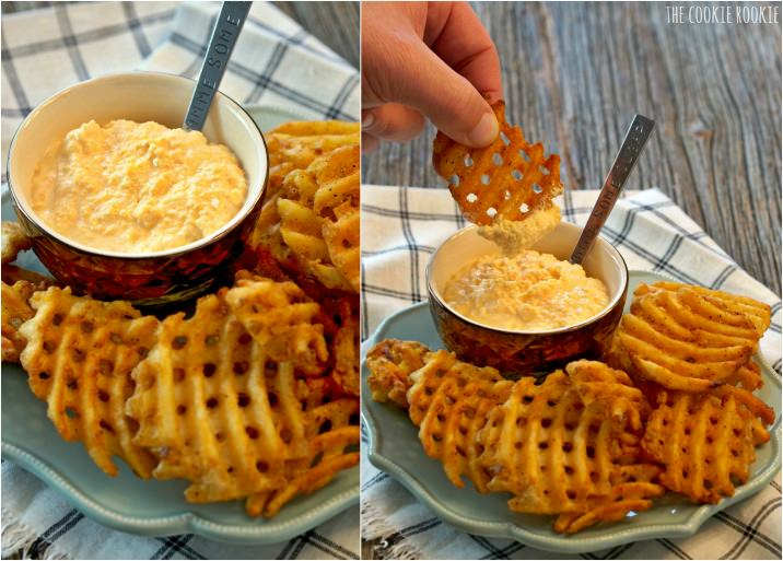 Cheese Horseradish Dipping Sauce, Easy yum! | The Cookie Rookie