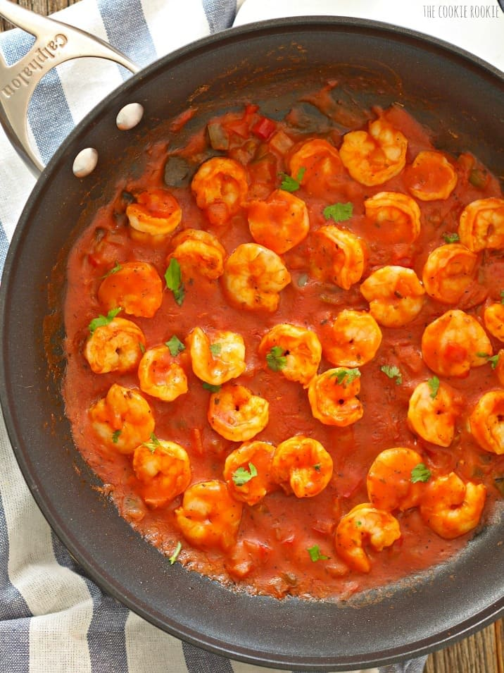Creole Shrimp and Cornbread Bruschetta, such a fun and tasty appetizer!   The Cookie Rookie