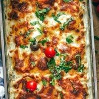 chicken lasagna featured image