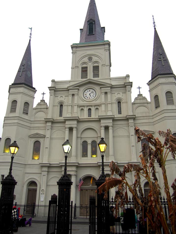 cathedral in New Orleans