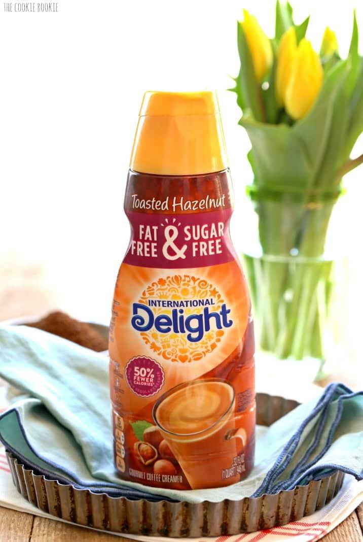 international delight creamer on a table