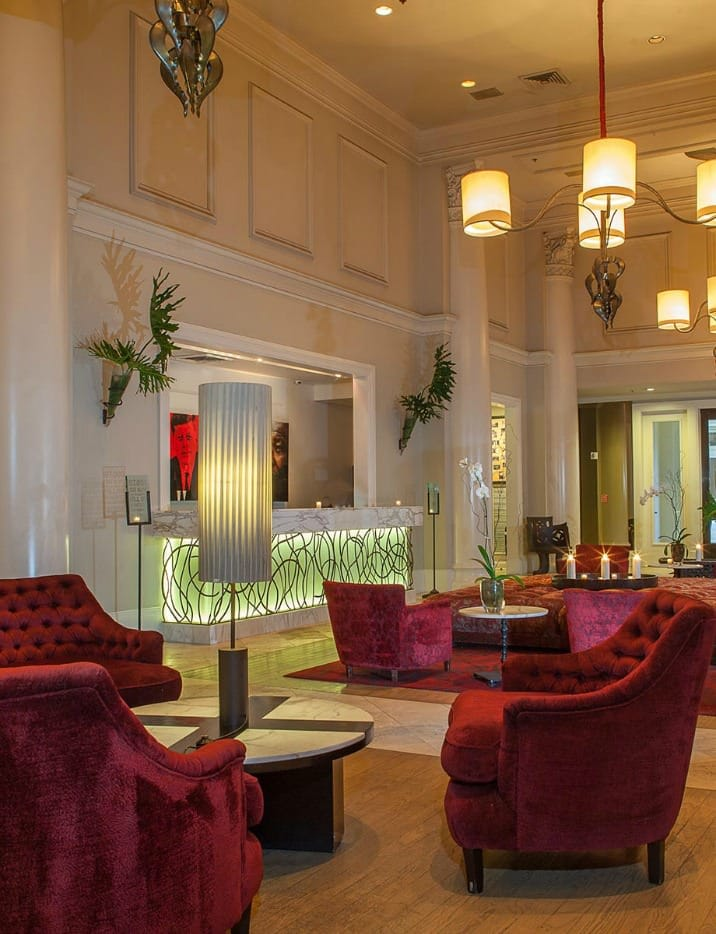 Lobby of the International House Hotel