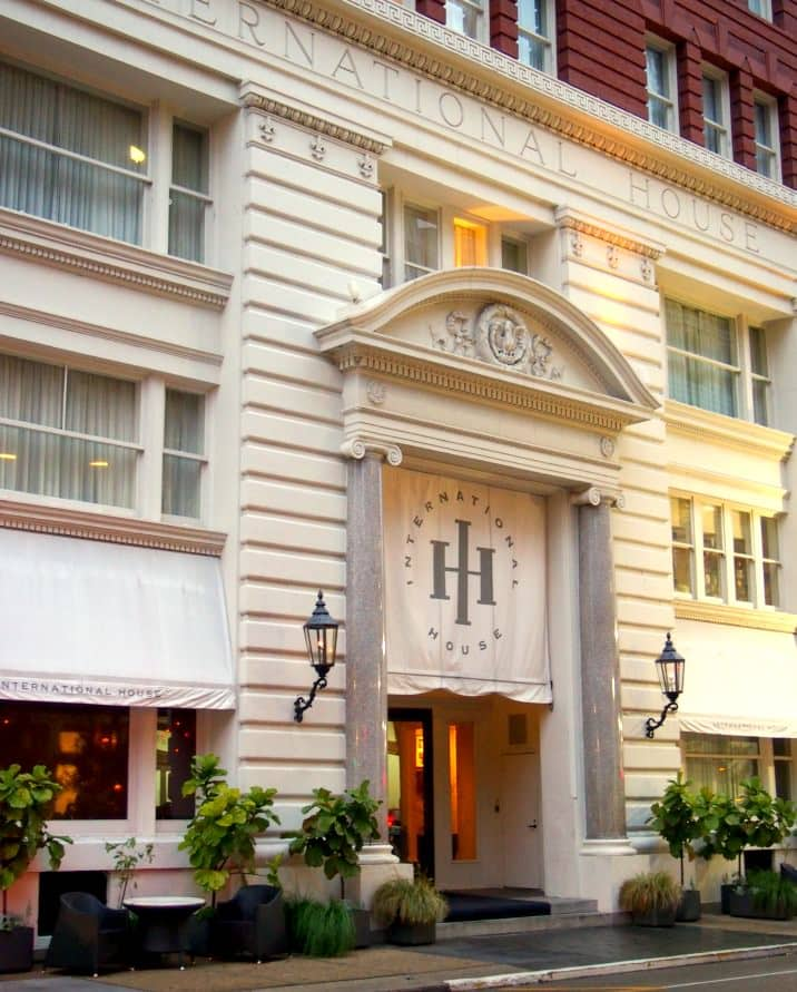 International House Hotel in New Orleans