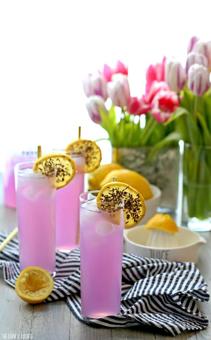 Lavender Lemonade Recipe Mocktail Or Cocktail The Cookie Rookie