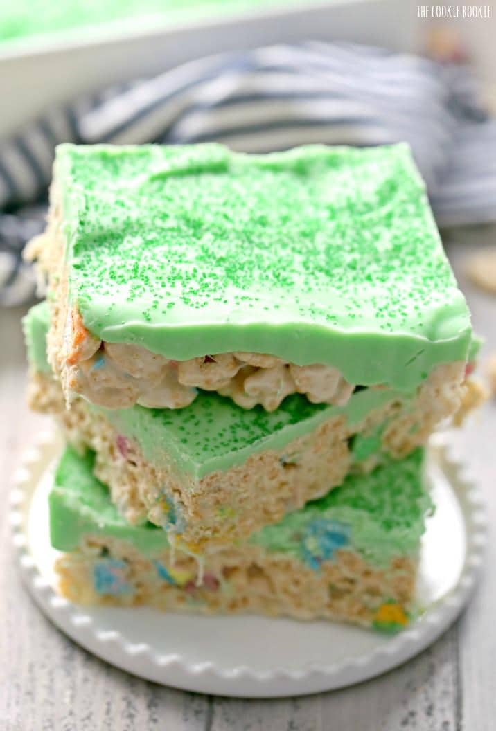 Iced Lucky Charms Treats The Cookie Rookie 174
