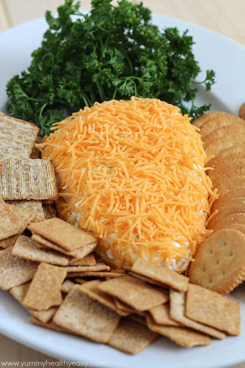 Easter Carrot Cheese Ball | Yummy Healthy Easy