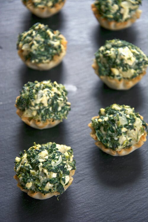 Spanakopita Tarts | The Housewife in Training Files