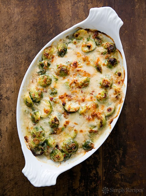 Brussels Sprouts Gratin | Simply Recipes