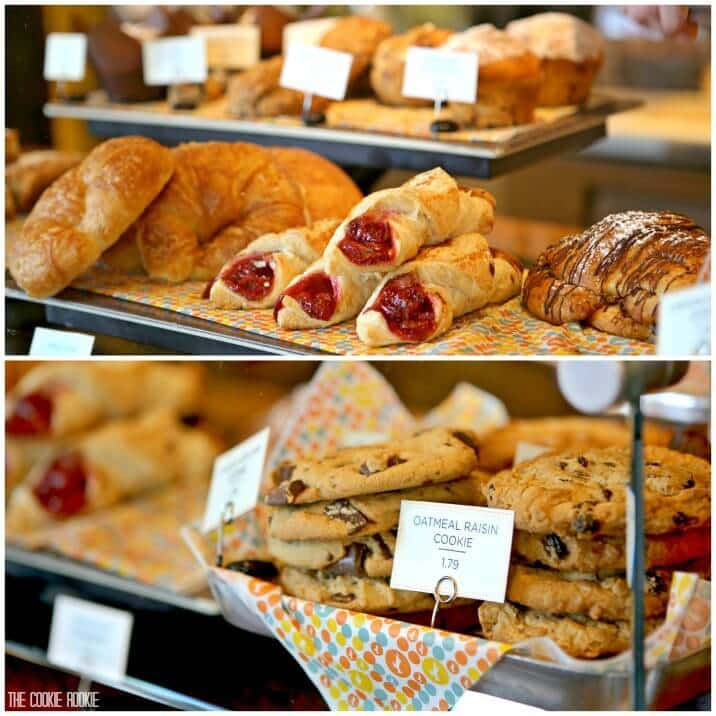 view of pastries and cookies