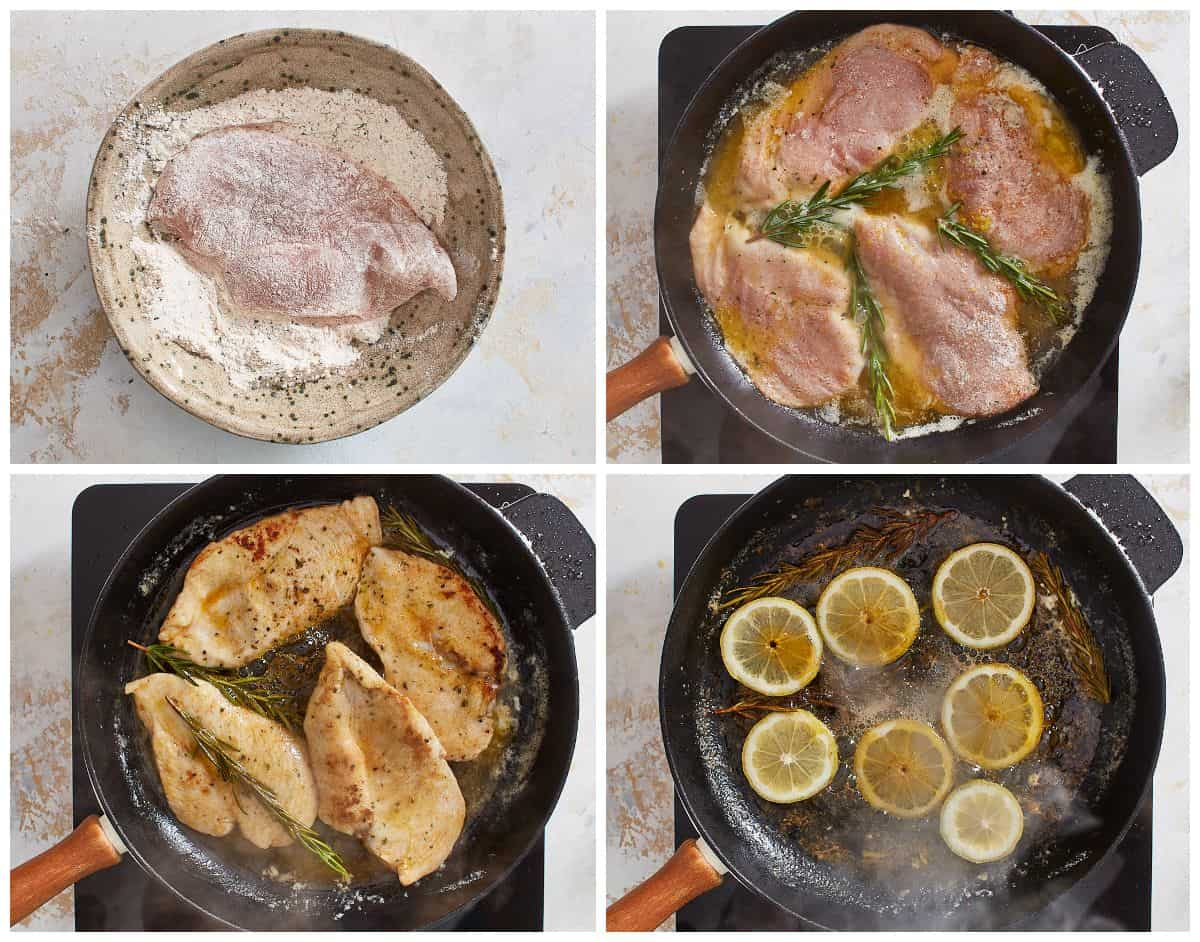 step by step photos for how to make lemon chicken