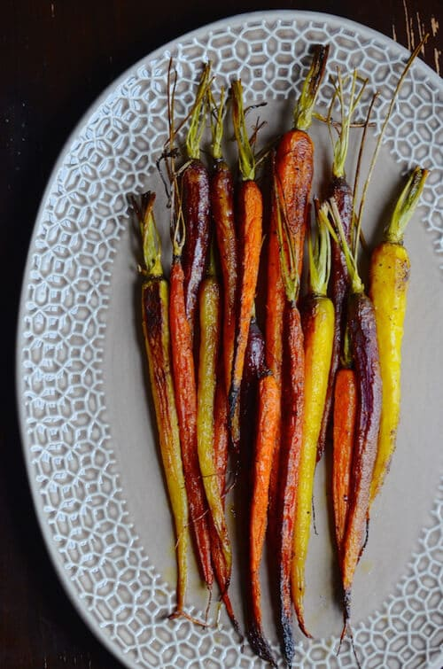 Moroccan Spiced Carrots with Ras el Hanout | Always Order Dessert
