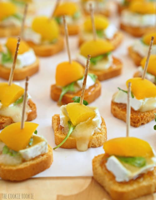 Mini Apricot Brie Bites   The Cookie Rookie