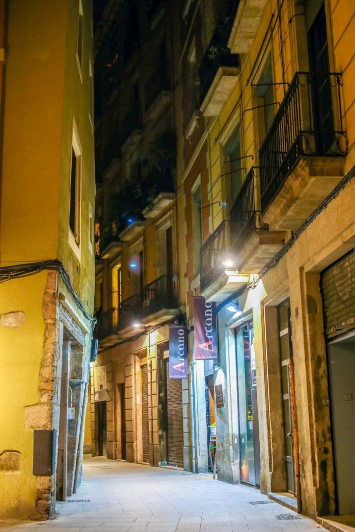 Arcono restaurant in Barcelona, Spain