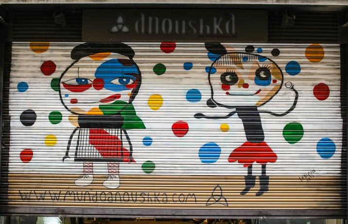 artwork in barcelona