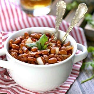 Bourbon Bacon Baked Beans