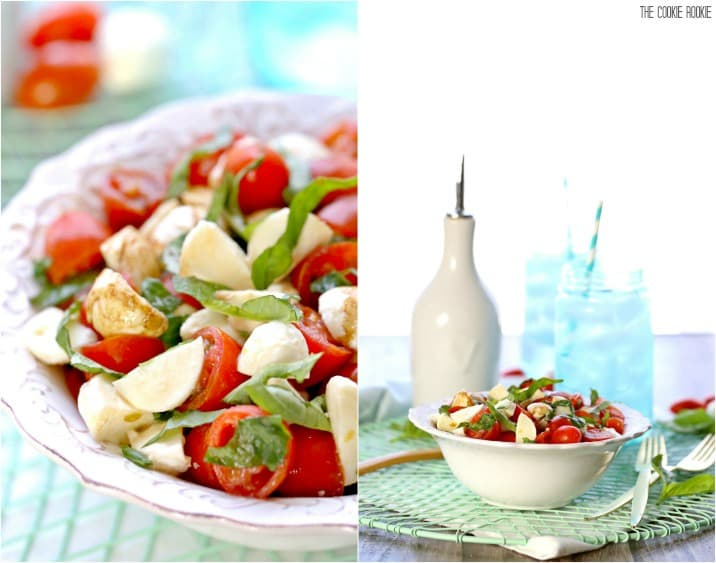 Chopped Caprese Salad Recipe The Cookie Rookie