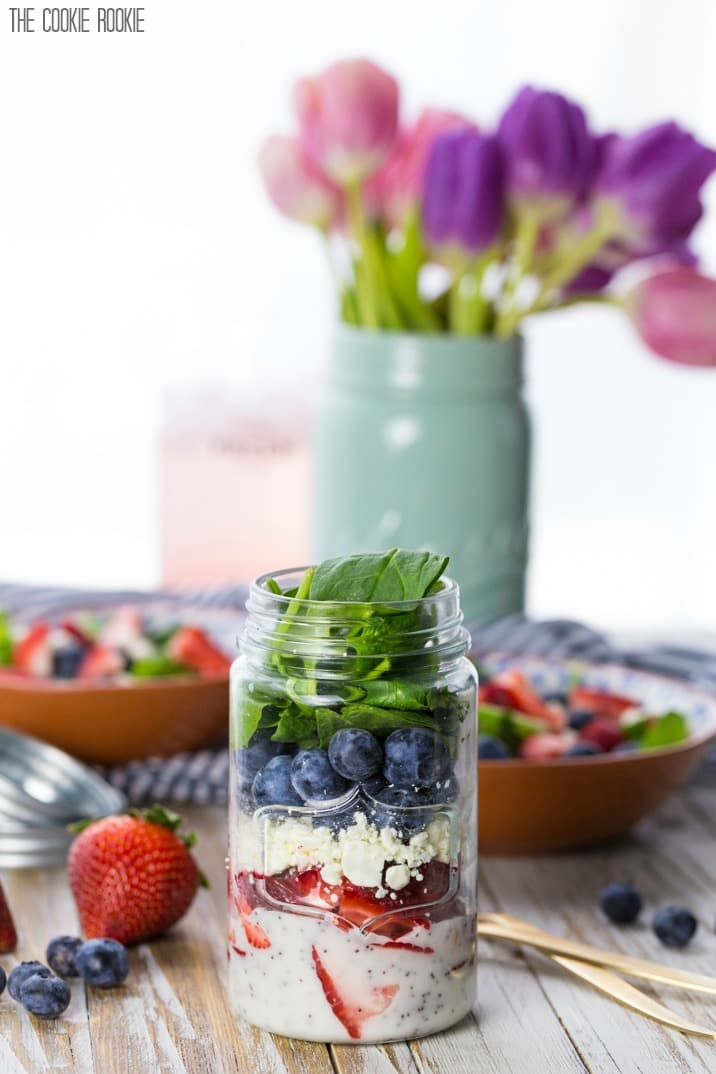 Mason Jar Salad Recipes | Simple Healthy Recipes For Everyone