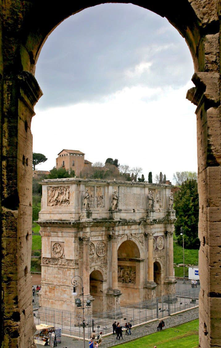 view of architecture in rome