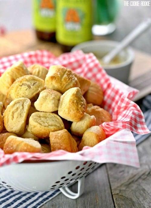 Easy Soft Pretzel Bites | The Cookie Rookie
