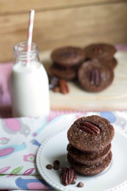 Triple Chocolate Mini Brownies   The Cookie Rookie