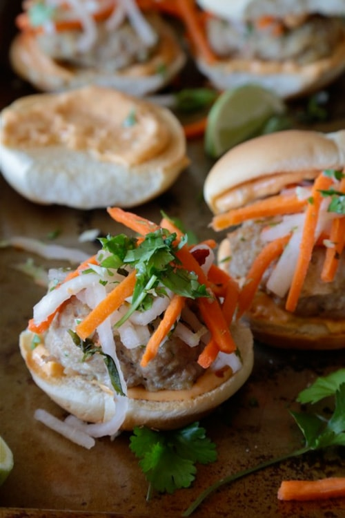 Thai Turkey Sliders | Country Cleaver