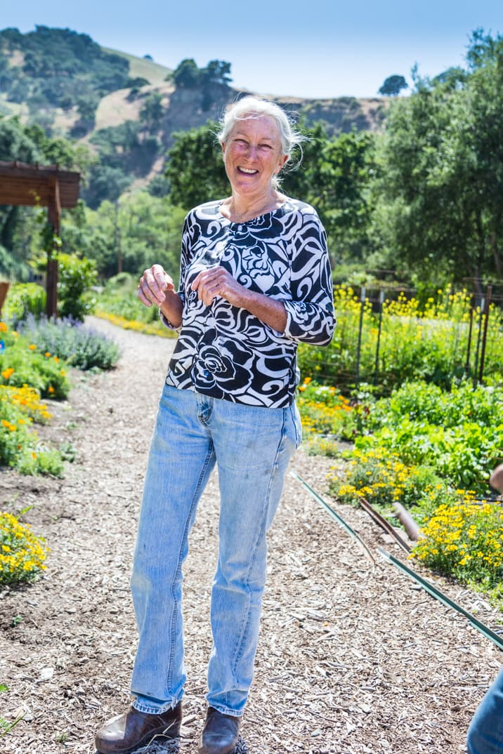 master gardener at Wente Vineyards