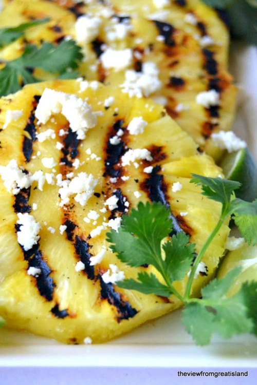 Grilled Pineapple Salad | The View from Great Island