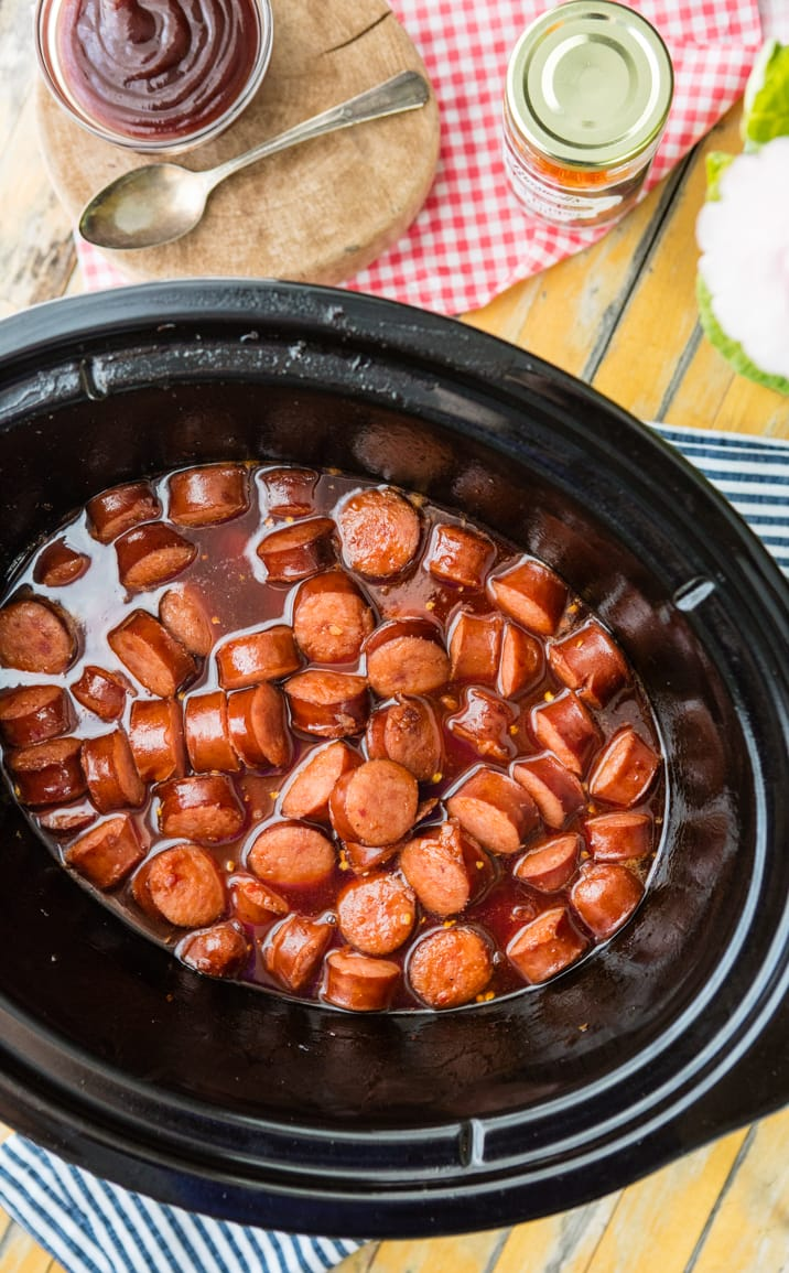 crock pot kielbasa recipe