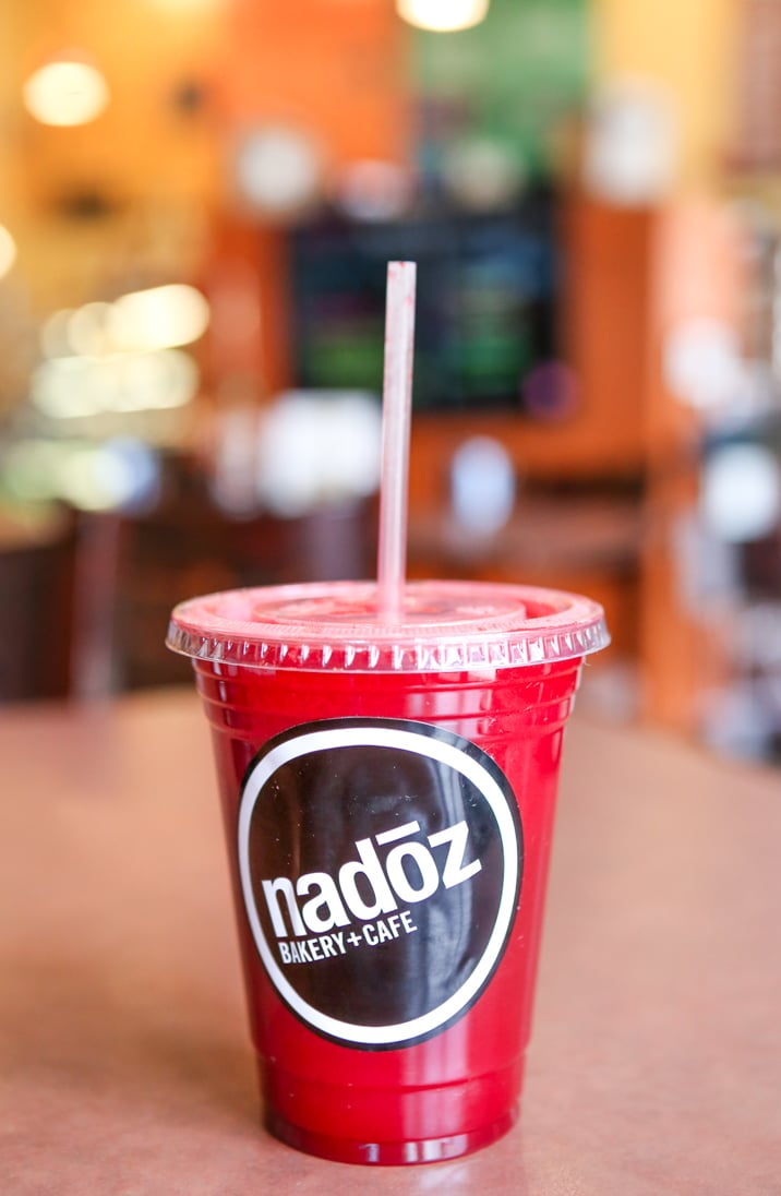 Smoothie from the Nadoz Cafe in St. Louis, Missouri