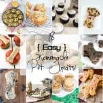 18 Easy Homemade Pet Treats to spoil your furry friend!