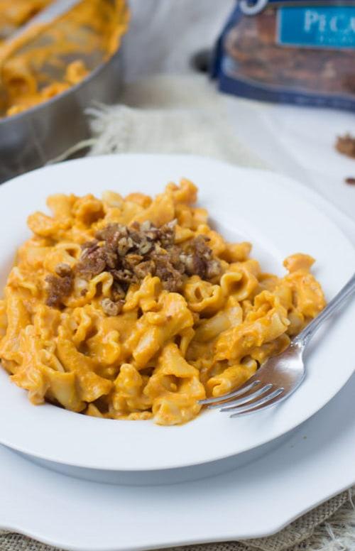 Creamy Pumpkin Pasta | Oh Sweet Basil