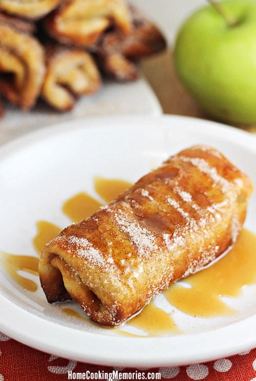 Pumpkin Apple Chimichangas | Home Cooking Memories