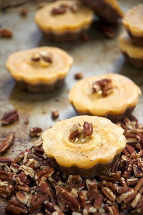 No Bake Pumpkin Pie Bites | With Salt and Wit