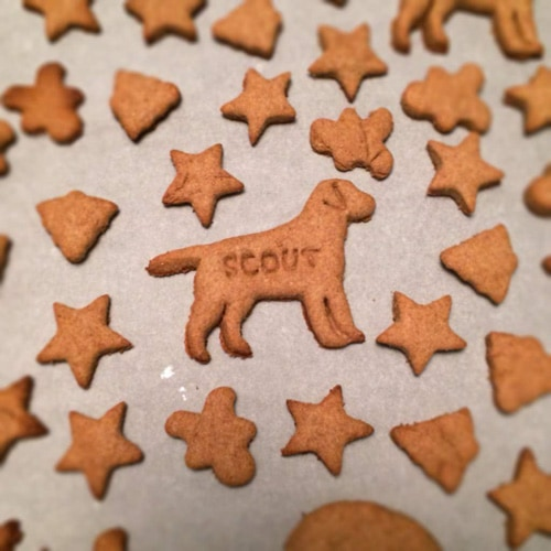 Peanut Butter Dog Treats | The Cookie Rookie
