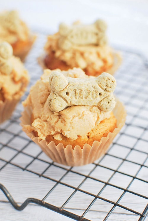 Peanut Butter Pupcakes | Fake Ginger